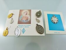 LOT OF 8 RELIGIOUS MEDALS some new SEE PICTURES