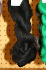 Merino Wool Top Roving Black 1 oz