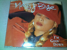 MARY J BLIGE - I'M GOIN' DOWN - 4 TRACK UK CD SINGLE