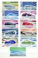 MONACO - 1975 - Evoluzione della linea dell'automobile dal 1907 al 1974