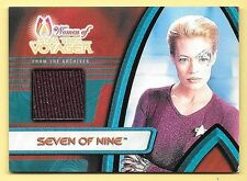2001 Women Of Star Trek Voyager Archives #F1 Seven Of Nine Costume Relic Card