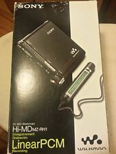 SONY MZ-RH1 MiniDisc Recorder & Player RARE Brand NEW in BOX, SEALED MZRH1 Hi-MD