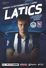Wigan Athletic v Ipswich Town 22/09/14