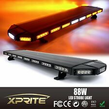 "Black Hawk 48"" Professional Amber LED Law Enforcement Roof Top Strobe Light Bar"