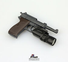 1/6 WWII Walter P38 P-38 Pistol Gun Weapon Model Soldier Figure Accessories