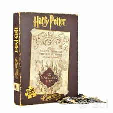 Nouveau Harry Potter Marauder's Map Puzzle 500 Pièces Marauders Officel