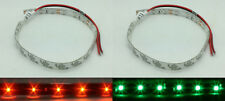 RED GREEN LED NAVIGATION BOW LIGHTING STRIP LIGHT WATERPROOF KAYAK CANOE BOATS