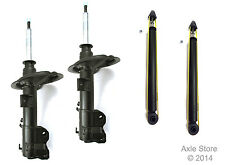 4 New Shocks Struts Full Set Fit Scion Xa Xb Ltd Lifetime Warranty Free Shipping