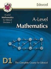 A-Level Maths for Edexcel - D1 (Decision Maths 1) Student Book By CGP (NEW)
