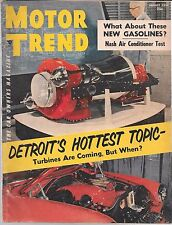 MOTOR TREND VOL. 6 #8 AUGUST 1954 (GD-) DETROIT'S HOTTEST TOPIC
