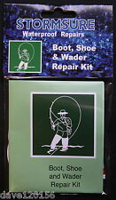 STORMSURE WATERPROOF REPAIRS BOOT SHOE & WADER REPAIR KIT