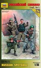 ZVEZDA 3561 RUSSIAN SPETSNAZ (kit1)  MODEL KIT 1/35