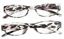 Camouflage Frame Reading Glasses Ice Gray Camo Readers Lens Strength: +3.50