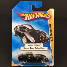 Hot Wheels Ferrari 250 GTO 2009 New Models #005 Black 1:64