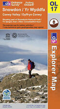 Snowdon by Ordnance Survey (Sheet map, folded, 2008)