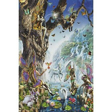 FAIRY FALLS - FANTASY ART POSTER - 24x36 SHRINK WRAPPED NATURE 1372