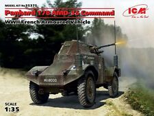 PANHARD 178 AMD-35 COMMAND ARMOURED CAR (FRENCH ARMY 1940 MARKINGS) 1/35 ICM