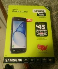 Samsung Galaxy Luna Straight Talk Phone Brand New with 2 year protection plan