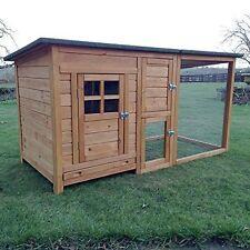 Pollaio  conigliera gabbia recinto in legno L 160 cm