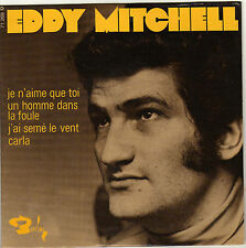 EDDY MITCHELL JE N'AIME QUE TOI FRENCH ORIG EP LONDON ALL STAR / JEAN BOUCHETY