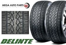 2 X Delinte Desert Storm D8+ 275/40ZR20 108W XL All Season Performance SUV Tires
