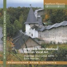 Selections From Russian Medieval Vocal Art - Abalian / Lege Art (2016, CD NIEUW)