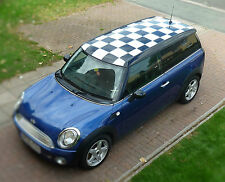 BMW Mini Clubman Check Roof Decals Kit Cooper Racing Vinyl Graphics NEW
