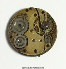 SWISS LEVER HIGH GRADE POCKET WATCH DEPOSE MOVEMENT K12