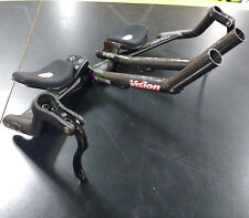 250mm Vision FSA Carbon Pro Aerobars / 42cm Alloy Base Bar / End Brake Levers
