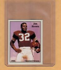 1966 Jim Brown Cleveland Browns Football HOFer rare NYC cab card limited edition