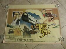 THE THIRTY NINE STEPS  movie poster ROBERT POWELL