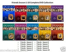 FRIENDS COMPLETE SERIES - 1 2 3 4 5 6 7 8 9 10 All Episode Season DVD UK R2