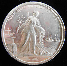 ENGLAND-1814- NAPOLEON OUSTED-BOURBON DYSNATY RESTORED- SUPERB