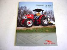 McCormick CX Series 73-102 HP Tractor Color Brochure 4 Page                  b1