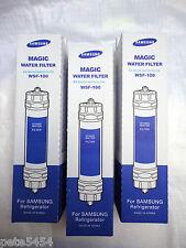 3x Original Samsung Replacement Fridge Filter WSF-100 Magic Water Filter EF9603