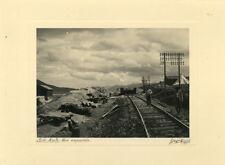 3 Photos Sidi Aich Algérie Voie Emportée Chemin de Fer 1935