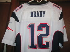 NWT2016 NIKE ELITE PATRIOTS TOM BRADY STITCHED AWAY WHITE XL/48 ON FIELD JERSEY