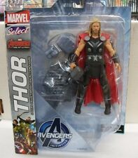 2 AVENGERS THOR MARVEL SELECT ACTION FIGURE di età di ULTRON UK Venditore