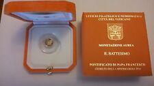 Vaticano 2016 - 10 Euro ORO FS PROOF - Il Battesimo