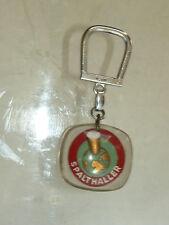 Porte clé  BOURBON Biere SPALTHALLER  Keychain médaille inclusion alimentation