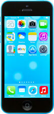 NEW UNLOCKED 16GB BLUE APPLE IPHONE 5C AT&T T-MOBILE STRAIGHT TALK Q385