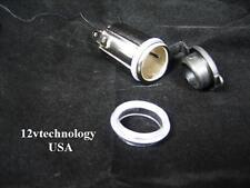 Hot Waterproof 12v Accessory Power Socket Car Cigarette Lighter Plug Jack MSR