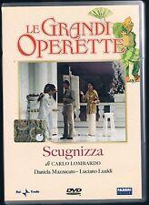 LE GRANDI OPERETTE SCUGNIZZA D. MAZZUCATO - L LUALDI DVD RAI TRADE FABBRI ED