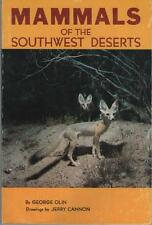 Mammals of the Southwest Deserts George Olin ARMADILLO PECCARY DEER SONORA COATI