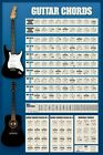 "GUITAR CHORDS POSTER ""LICENSED"" BRAND NEW"