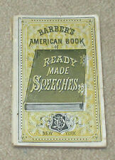 Barber's American Book of Ready-Made Speeches 1871