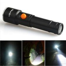 Single File 8000 LM 1-Modes CREE XML T6 LED AA Battery Flashlight Outdoor Lamp