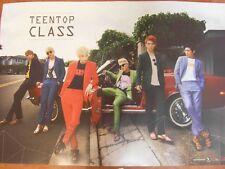 TEEN TOP - Teen Top Class (4th Mini Album) CD + Unfold POSTER $2.99 Ship K-POP