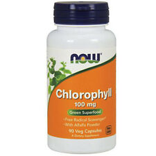 Chlorophyll 90 Veg Caps 100 mg by Now Foods
