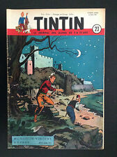 Fascicule périodique Journal Tintin N° 23 1951 BE + Reding
